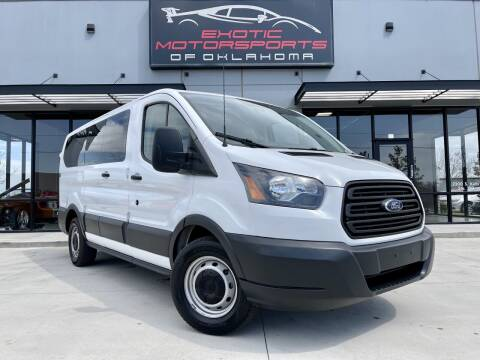 2015 Ford Transit Passenger for sale at Exotic Motorsports of Oklahoma in Edmond OK