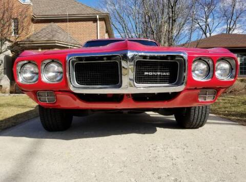 1969 Pontiac Firebird for sale at Classic Car Deals in Cadillac MI