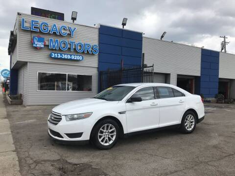2013 Ford Taurus for sale at Legacy Motors in Detroit MI