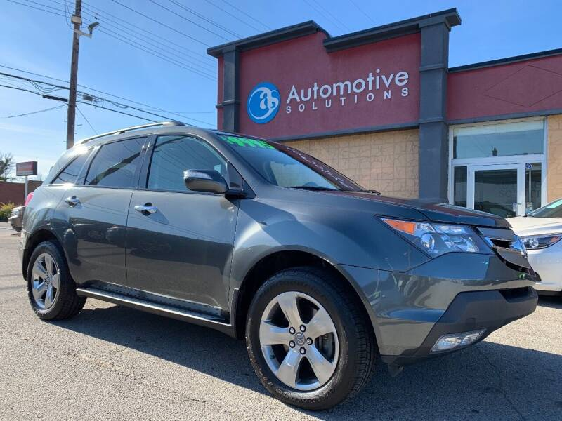 2007 Acura MDX for sale at Automotive Solutions in Louisville KY