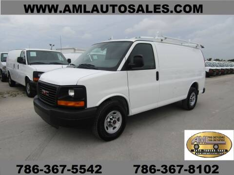 2012 GMC Savana G-2500  G 2500    G2500 for sale at AML AUTO SALES - Cargo Vans in Opa-Locka FL