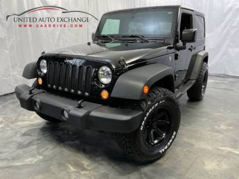 2017 Jeep Wrangler for sale at United Auto Exchange in Addison IL