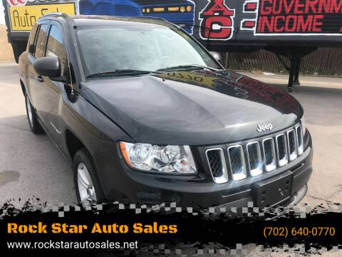 2011 Jeep Compass for sale at Rock Star Auto Sales in Las Vegas NV
