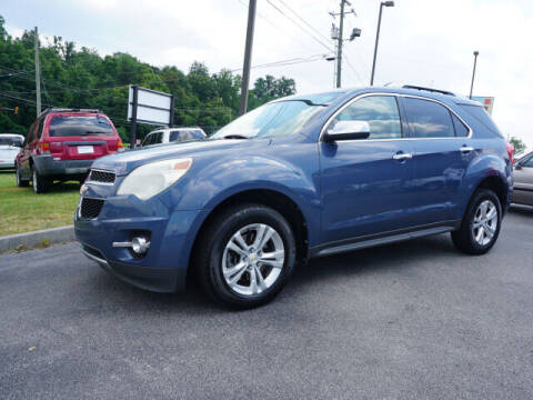 2011 Chevrolet Equinox for sale at CHAPARRAL USED CARS in Piney Flats TN