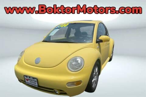 2003 Volkswagen New Beetle for sale at Boktor Motors in North Hollywood CA