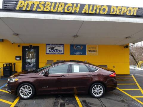 2019 Ford Fusion Hybrid for sale at Pittsburgh Auto Depot in Pittsburgh PA