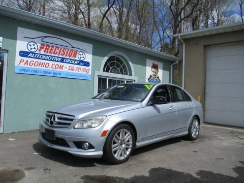 2008 Mercedes-Benz C-Class for sale at Precision Automotive Group in Youngstown OH