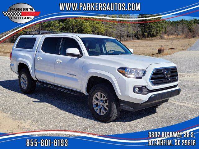 2018 Toyota Tacoma for sale at Parker's Used Cars in Blenheim SC