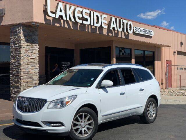 2016 Buick Enclave for sale at Lakeside Auto Brokers Inc. in Colorado Springs CO