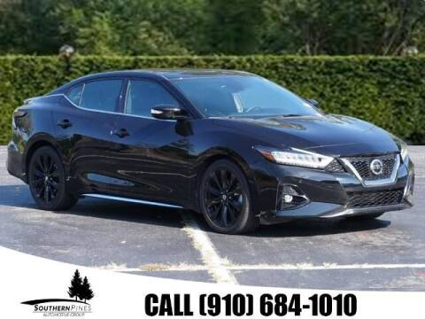 2019 Nissan Maxima for sale at PHIL SMITH AUTOMOTIVE GROUP - Pinehurst Nissan Kia in Southern Pines NC