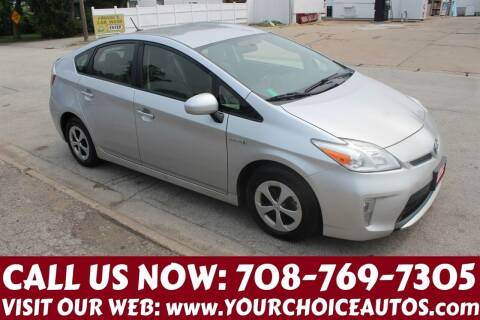 2013 Toyota Prius for sale at Your Choice Autos in Posen IL