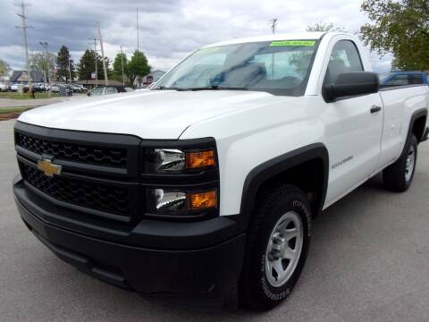 2014 Chevrolet Silverado 1500 for sale at Ideal Auto Sales, Inc. in Waukesha WI