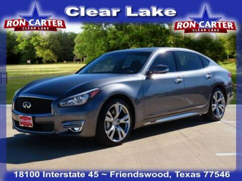 2019 Infiniti Q70L for sale at Ron Carter  Clear Lake Used Cars in Houston TX