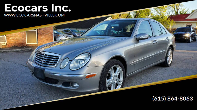 2006 Mercedes-Benz E-Class for sale at Ecocars Inc. in Nashville TN