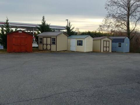 Various Sheds Cedar Lane Storage Building for sale at Regional Auto Sales in Madison Heights VA