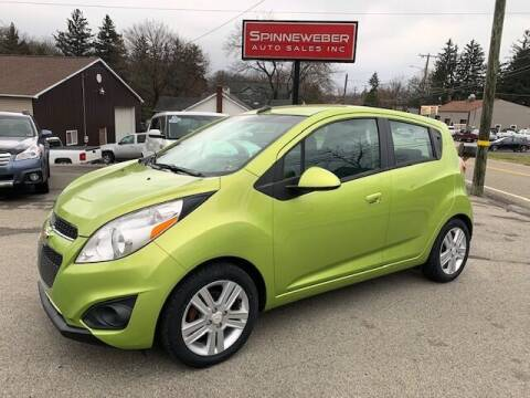 2013 Chevrolet Spark for sale at SPINNEWEBER AUTO SALES INC in Butler PA