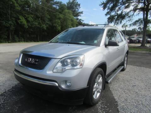 2012 GMC Acadia for sale at Bullet Motors Charleston Area in Summerville SC
