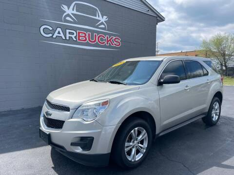 2013 Chevrolet Equinox for sale at Carbucks in Hamilton OH