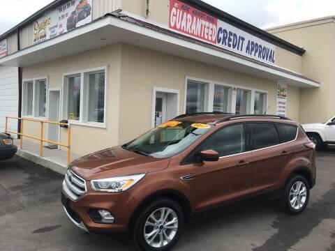 2017 Ford Escape for sale at Suarez Auto Sales in Port Huron MI