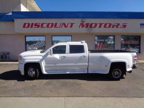 2015 GMC Sierra 3500HD for sale at Discount Motors in Pueblo CO