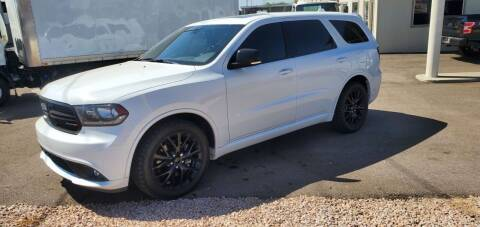 2016 Dodge Durango for sale at AZ WORK TRUCKS AND VANS in Mesa AZ