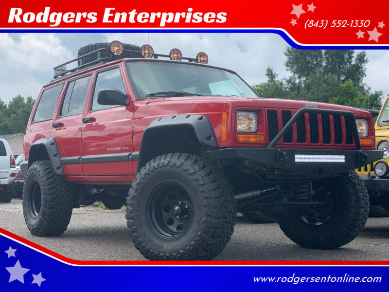 2001 Jeep Cherokee for sale at Rodgers Enterprises in North Charleston SC