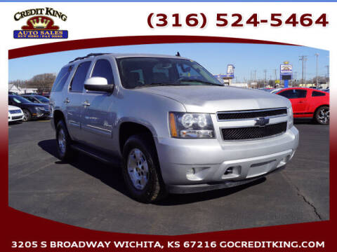 2011 Chevrolet Tahoe for sale at Credit King Auto Sales in Wichita KS