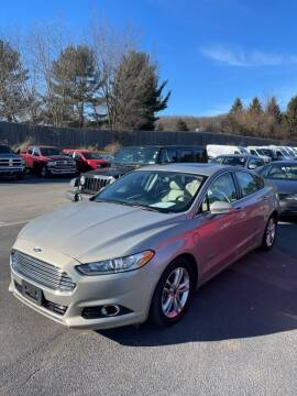 2016 Ford Fusion Energi for sale at Jeff D'Ambrosio Auto Group in Downingtown PA