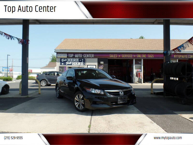 2012 Honda Accord for sale at Top Auto Center in Quakertown PA