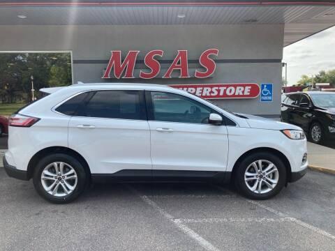 2019 Ford Edge for sale at MSAS AUTO SALES in Grand Island NE