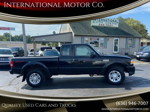 2007 Ford Ranger for sale at International Motor Co. in Saint Charles MO