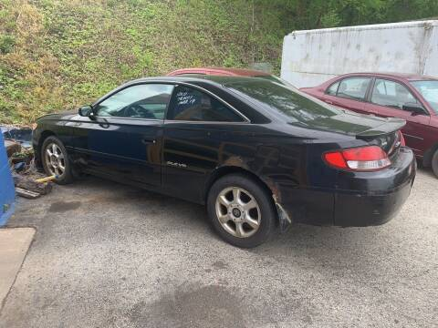 1999 Toyota Camry Solara for sale at Trocci's Auto Sales in West Pittsburg PA
