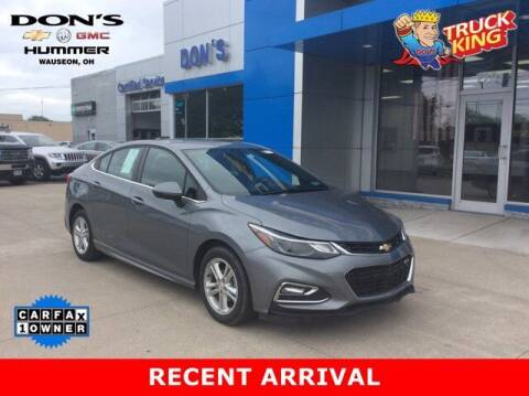 2018 Chevrolet Cruze for sale at DON'S CHEVY, BUICK-GMC & CADILLAC in Wauseon OH