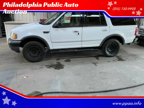 2000 Ford Expedition for sale at Philadelphia Public Auto Auction in Philadelphia PA