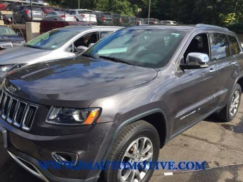 2016 Jeep Grand Cherokee for sale at J & M Automotive in Naugatuck CT