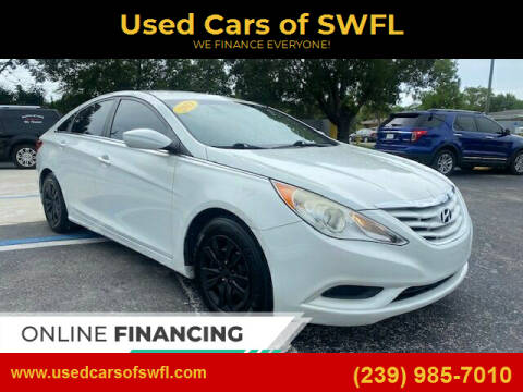 2013 Hyundai Sonata for sale at Used Cars of SWFL in Fort Myers FL