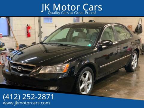 2008 Hyundai Sonata for sale at JK Motor Cars in Pittsburgh PA