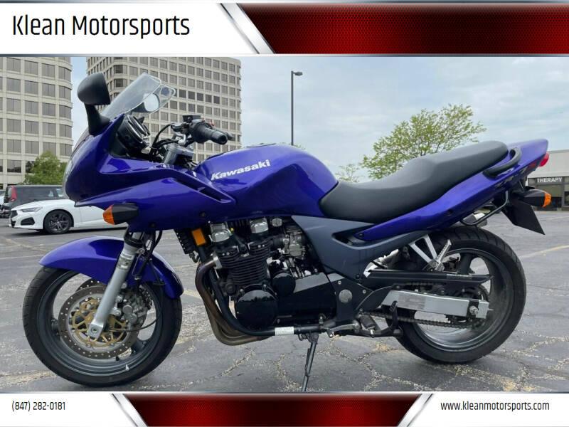 2002 Kawasaki ZR750-H for sale at Klean Motorsports in Skokie IL