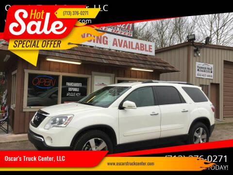 2011 GMC Acadia for sale at Oscar's Truck Center, LLC in Houston TX
