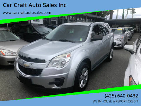 2014 Chevrolet Equinox for sale at Car Craft Auto Sales Inc in Lynnwood WA