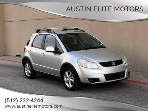 2009 Suzuki SX4 Crossover for sale at Austin Elite Motors in Austin TX