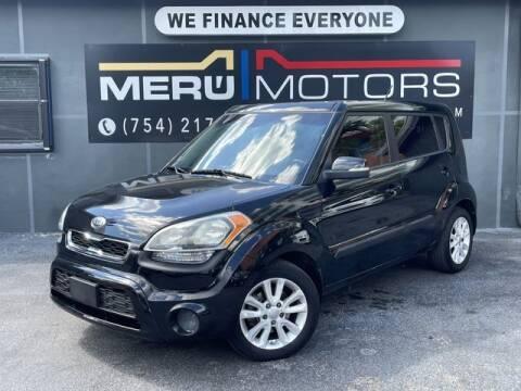 2013 Kia Soul for sale at Meru Motors in Hollywood FL