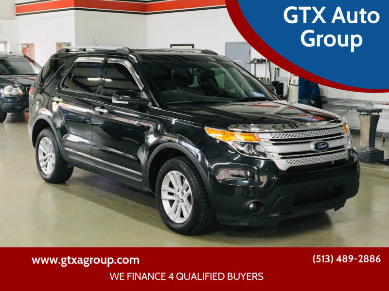 2013 Ford Explorer for sale at GTX Auto Group in West Chester OH