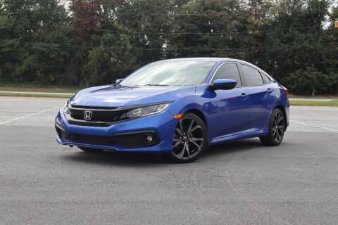 2019 Honda Civic for sale at Auto Guia in Chamblee GA