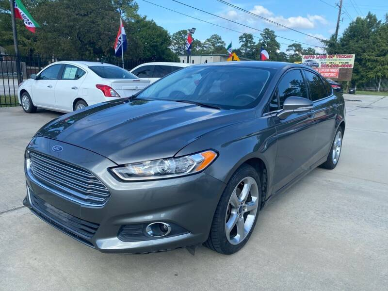 2014 Ford Fusion for sale at Auto Land Of Texas in Cypress TX