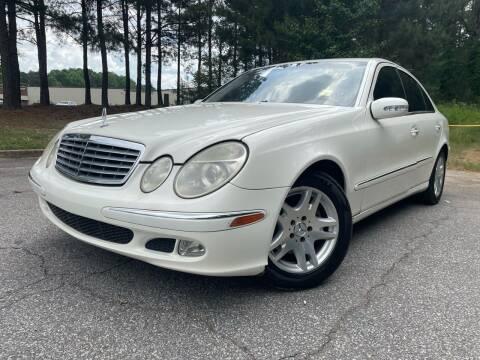 2004 Mercedes-Benz E-Class for sale at el camino auto sales - Global Imports Auto Sales in Buford GA