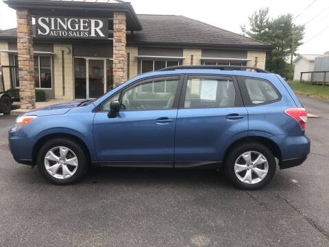 2015 Subaru Forester for sale at Singer Auto Sales in Caldwell OH