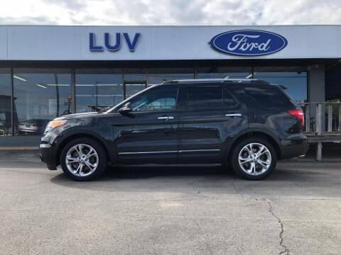2014 Ford Explorer for sale at Luv Motor Company in Roland OK