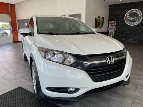 2016 Honda HR-V for sale at Evolution Autos in Whiteland IN