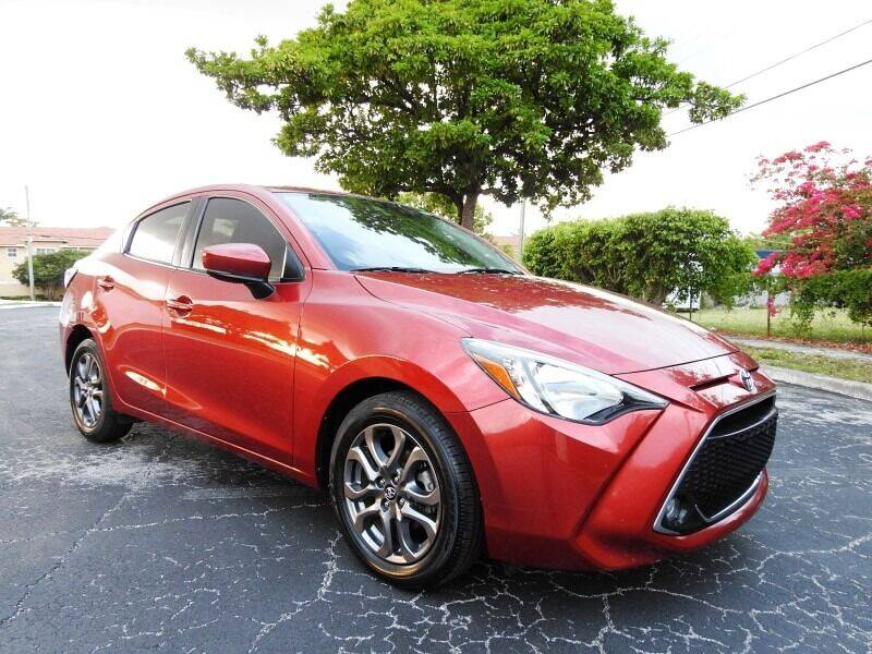 2019 Toyota Yaris for sale at SUPER DEAL MOTORS 441 in Hollywood FL